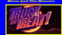 Blaze And The Monster Machines - Truck Or Treat ( Blaze Blue )