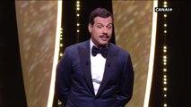 Cannes 2016 la blague de Laurent Lafitte sur Woody Allen provoque le malaise