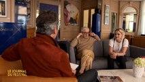 Woody Allen et Kristen Stewart - Le Journal du Festival par Michel Denisot - 11/05 - Cannes 2016 CANAL+