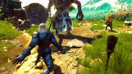 The Witcher 3 : Blood and Wine - Gameplay de The Witcher 3 : Wild Hunt