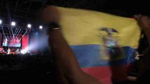 Solidaridad y música latina por los damnificados del terremoto de Ecuador