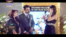 Mr. & Mrs. Vasay Chaudhry On The Orange Carpet Of ARY Film Awards 2016
