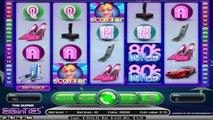 Super Eighties ilmainen kasino kolikkopeli NetEnt Video Esikatselu