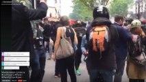 Images amateur de la manifestation du 12 mai contre la loi Travail