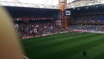 Derby Gradinata Nord Samp - Genoa 0-3