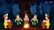 Five Little Monkeys Jumping On The Bed   Part 1 - The Naughty Monkeys   ChuChu TV Kids Songs