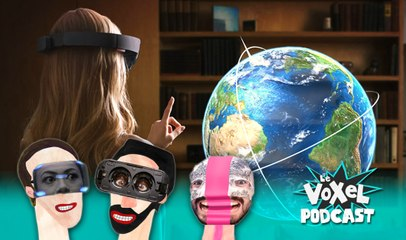 Voxel podcast 5# La réalité virtuelle et la réalité augmentée