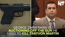 George Zimmerman Auctions Off Gun Used To Kill Trayvon Martin