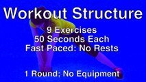 40 Minute Cardio Barefoot Flow Full Length Low Impact Quiet Cardio