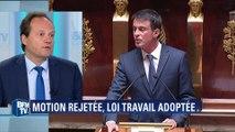 Loi travail: Germain appelle Valls à ne pas utiliser le 49.3 en deuxième lecture
