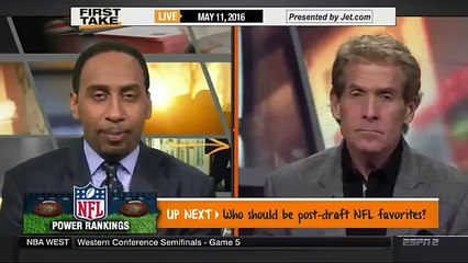 ESPN FIRST TAKE - CHARLES BARKLEY GRILLS DWIGHT HOWARD