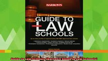 new book  Guide to Law Schools Barrons Guide to Law Schools