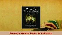 PDF  Romantic Women Poets An Anthology Free Books