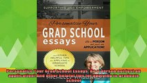 best book  Personalize Your Grad School Essays Be a person not just an application And other