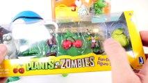 NEW Plants Vs Zombies 2016 Toys Play Doh Surprise Egg Videos PvZ Garden Warfare 2 ZerO From DCTC