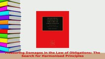 PDF  Measuring Damages in the Law of Obligations The Search for Harmonised Principles Free Books
