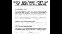 GH SAM & JASON MORGAN AFTER MEMORIES RETURN SPOILERS General Hospital Sonny Promo Preview 5-9-16
