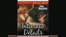 FREE PDF  Intimate Details Siren Publishing Menage Amour  DOWNLOAD ONLINE