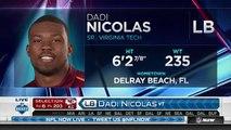 2016 NFL Draft Rd 6 Pk 203 Kansas City Chiefs Select DE Dadi Nicolas