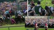Scary Crash Sends Horses, Riders Flying Before Kentucky Derby 2016
