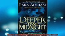 FREE PDF  Deeper Than Midnight The Midnight Breed Book 9  DOWNLOAD ONLINE