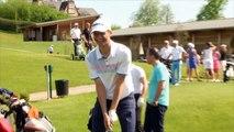 Thomas Müller spielt Golf - 'Bombe!' FC Bayern Münchens Star hat Spaß auf Golf-Platz