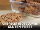 Des cookies au beurre de cacahuète sans gluten en 60s