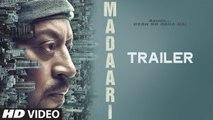 Madaari Movie Trailer 2016 Irrfan Khan, Jimmy Shergill   New Bollywood Movies