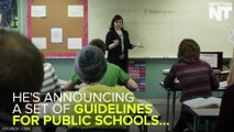 Obama is supporting trans students by announcing new guidelines for public schools