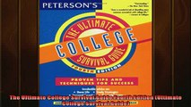 READ book  The Ultimate College Survival Guide Fourth Edition Ultimate College Survival Guide  FREE BOOOK ONLINE