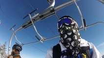GoPro Video: Skiing at Winter Park on 3/27/16