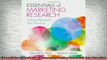 READ FREE Ebooks  Essentials of Marketing Research Putting Research Into Practice Free Online