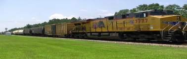 CSX Q606 at Folkston on 6-19-09 in HD
