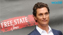 Actor Matthew McConaughey Makes Loud Noises In New Video
