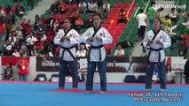 7th WTF World Taekwondo Poomsae Championships Female -29 Team PER Castllo, Alarco, Yi.mp4
