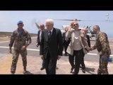Libano - Mattarella a Shama in Libano per la visita a sorpresa al contingente (13.05.16)