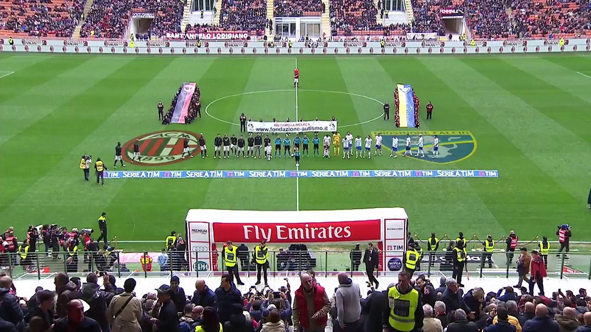 AC Milan-Frosinone 3-3 AC Milan Official