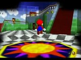 Super Mario 64 (VC) 1 star speedrun 8:29 by Noktem