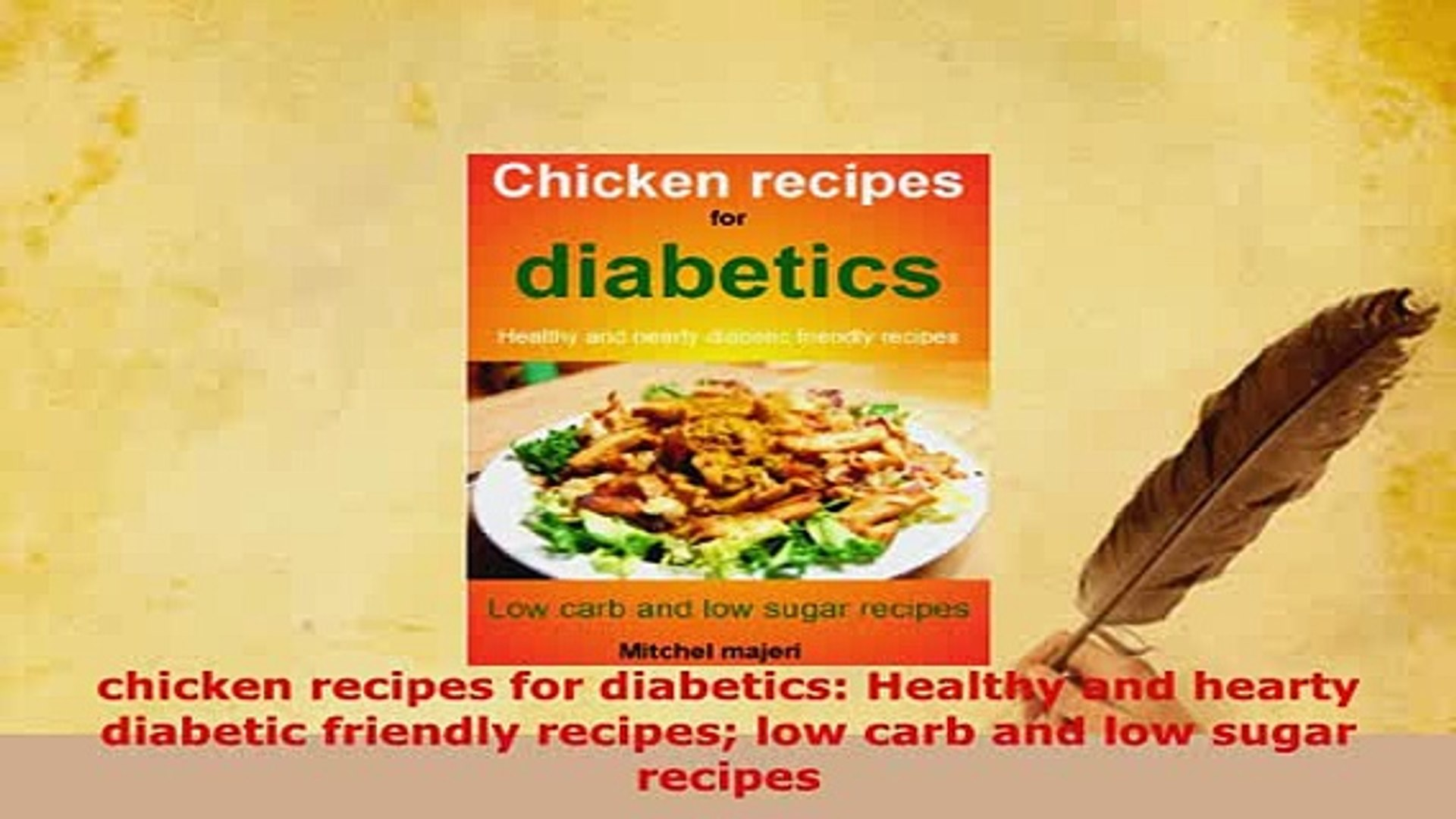 Download Chicken Recipes For Diabetics Healthy And Hearty Diabetic Friendly Recipes Low Carb And Pdf Online