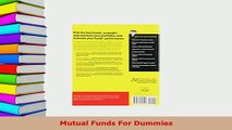 PDF  Mutual Funds For Dummies Download Online