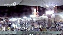 أمطار المسجد النبوي الخميس 26-11-1436 ( 1 )
