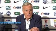Giroud, Lacazette, Gameiro - Deschamps explique ses choix offensifs de la liste des 23