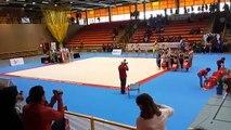 Desfile campeonato de España en edad escolar de gimnasia ritmica Alcorcón