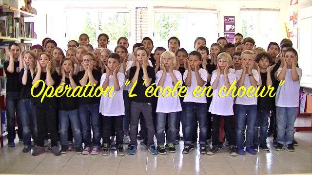 L'école en choeur - Académie de Nice - Ecole publique Bilingue de Cuers