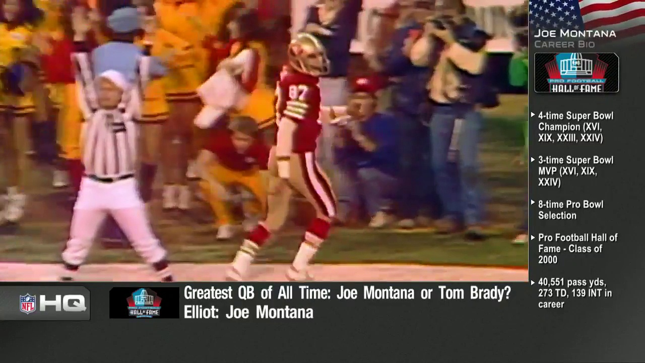 Tom Brady vs. Joe Montana – Who's The Greatest Quarterback In NFL History NFL