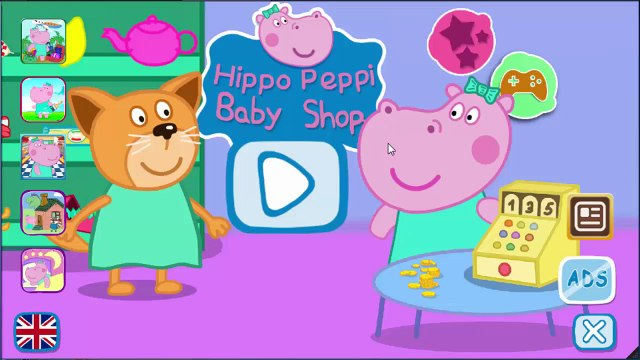 Peppa Pig English Shopping 2   Games For Kids   Gameplay Peppa Pig VickyCoolTV