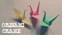 Origami - Origami Crane - Grue en Origami