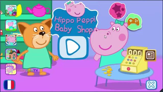 Peppa Pig En Francais Shopping 2   Jeux Pour Enfants   Jeux Peppa Pig VickyCoolTV