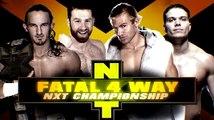 Adrian Neville vs Sami Zayn vs Tyler Breeze vs Tyson Kidd Fatal Four Way Match NXT Championship NXT TakeOver: Fatal 4-Way