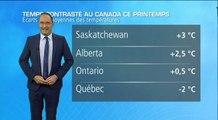 Météo Canada : de forts contrastes de températures